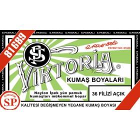 Viktoria Toz Kumaş Boyası 36 Filizi Açık