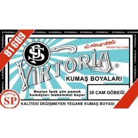 Viktoria Toz Kumaş Boyası 35 Cam Göbeği