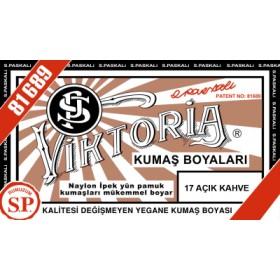 Viktoria Toz Kumaş Boyası 17 Açık Kahve