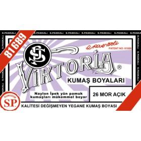 Viktoria Toz Kumaş Boyası 26 Mor Açık