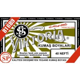Viktoria Toz Kumaş Boyası 40 Nefti