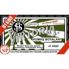 Viktoria Toz Kumaş Boyası 41 Haki