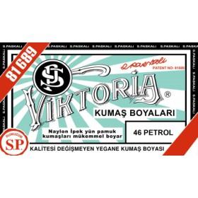 Viktoria Toz Kumaş Boyası 46 Petrol
