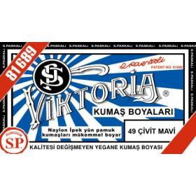 Viktoria Toz Kumaş Boyası 49 Çivit Mavi