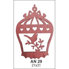 Ahşap Obje AN29