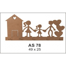 Ahşap Obje AS78