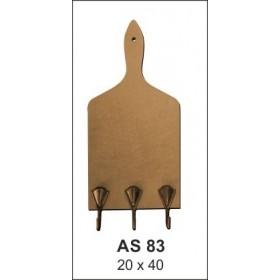 Ahşap Obje AS83