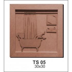 Ahşap Obje TS05