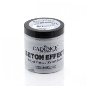 Cadence Beton Effect Rölyef Pasta 250ml (350gr)