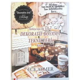 Ece Aymer'le Dekoratif Boyama Kitabı