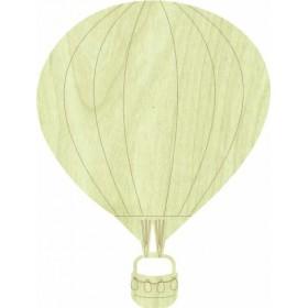 Uçan Balon Paket Süs Ahşap Obje KD-275