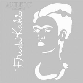Artdeco Stencil Frida Kahlo  30x30cm-ST110