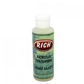 Rich Su Bazlı YARI MAT Vernik 130 ml
