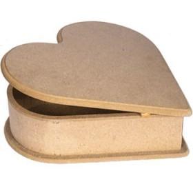 Kalp Kutu Büyük 27x25x7 cm