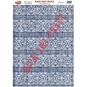 Rich Pirinç Dekopaj Kağıdı 8290