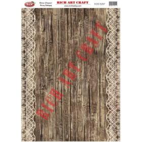 Rich Pirinç Dekopaj Kağıdı 8297
