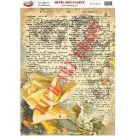 Rich Pirinç Dekopaj Kağıdı 8310