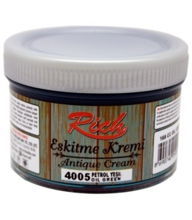 Rich Eskitme Kremi/Antique Cream 4005 PETROL YEŞİLİ 160cc