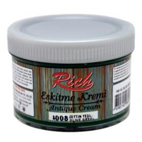 Rich Eskitme Kremi/Antique Cream 4008 ZEYTİN YEŞİLİ 160cc