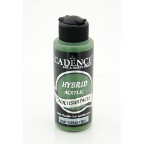 Cadence Hybird Akrilik Multisurface H-051 YAPRAK YEŞİLİ 120ml