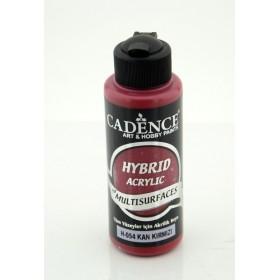 Cadence Hybird Akrilik Multisurface H-054 KAN KIRMIZI 120ml
