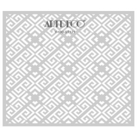 Artdeco Stencil Kilimli Desen 30x30cm -ST121