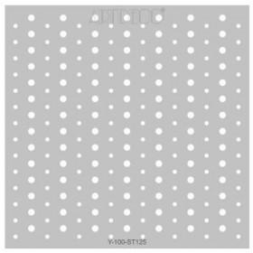 Artdeco Stencil Pauntiyeler  30x30cm -ST125