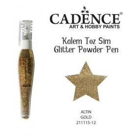 Cadence Kalem Toz Sim ALTIN-12