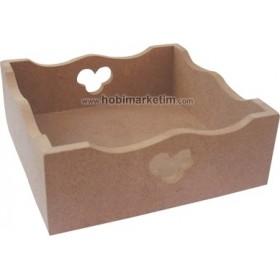 Kapaklı Peçete Kutu