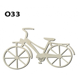 Lazer Kesim Ahşap Obje Bisiklet O33