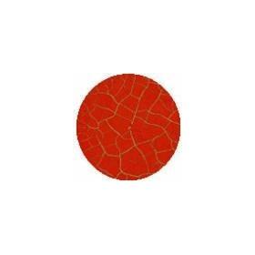 Cadence Crocodile Renkli Çatlatma 1003 Kırmızı