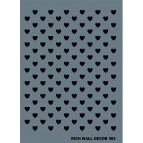 Rich Wall Decor Stencil 50x70cm - 003