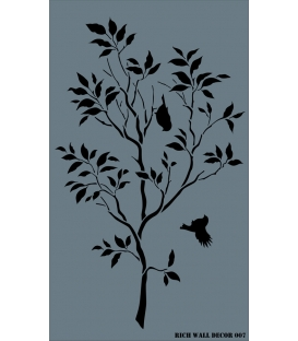 Rich Wall Decor Stencil 50x85cm - 007