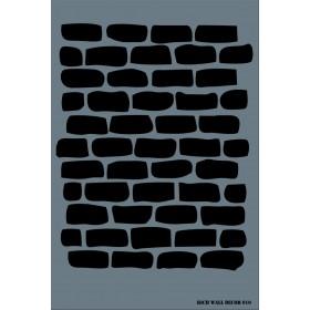Rich Wall Decor Stencil 50x70cm - 010