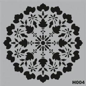 H004 Stencil Şablon 25x25cm