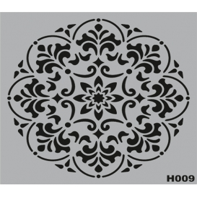 H009 Stencil Şablon 25x25cm