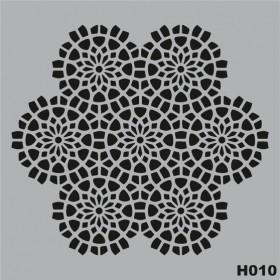 H010 Stencil Şablon 25x25cm