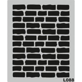 L088 Stencil 20x24 cm