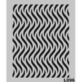 L096 Stencil 20x24 cm