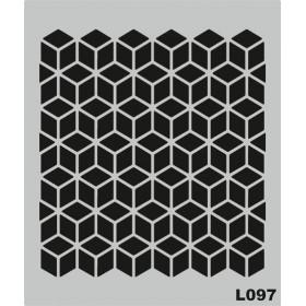L097 Stencil 20x24 cm