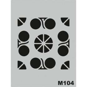 M104 Stencil 14x20 cm