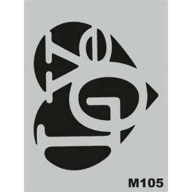 M105 Stencil 14x20 cm