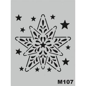 M107 Stencil 14x20 cm