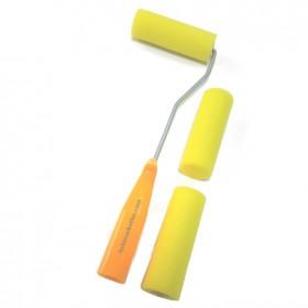 10cm'lik Sünger Rulo Fırça Seti + 2 Yedek Uç