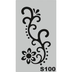 S100 Stencil 9x16 cm