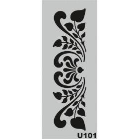 U101 Stencil 10x25 cm