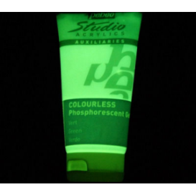 Pebeo Phosphorescent TRANSPARAN YEŞİL (Fosforesan Jel) 100 ml.