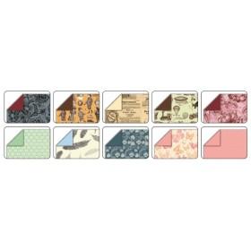 Folia Origami Kağıdı 15x15 cm. 10 Desen 50 Yaprak NOSTALJİ