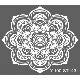 Artdeco Stencil Mandala-2- 30x30cm -ST143