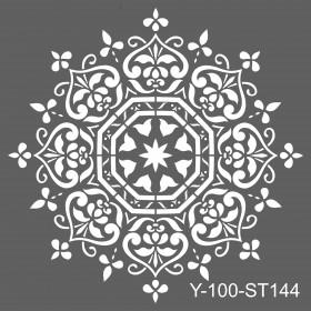 Artdeco Stencil 30x30cm -ST144
